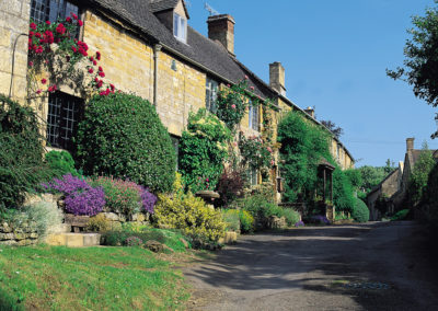 The stunning beauty of a Cotswold village
