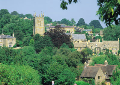 Pretty towns & villages of The Cotswolds countryside