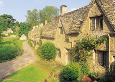 Cotswold cottages, Bibury