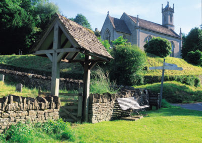 Historical Cotswold churches